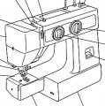Janome New Home  JA1512 - JA1510 - JA1501 - JA1506 - JA1504 Sewing machine PDF instruction manual in  English